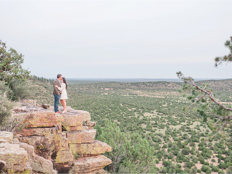 Holly + Cooper | Sweet Engagement at Blame Her Ranch |Santa Fe Wedding Photographers