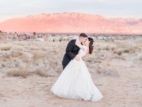 Caroline + Matt | San Felipe de Niri and Noah's Winter Wedding | Albuquerque Wedding Photographers