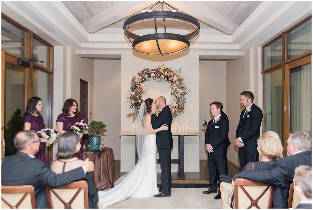 Winter Wedding New Mexico. New Mexico Wedding Photographer. Four Seasons Santa Fe Wedding. Christmas Wedding New Mexico.