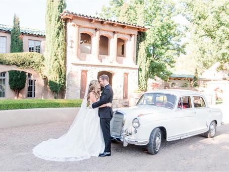 Caroline & Jon | Elegant Casa Rondena Wedding | Albuquerque Wedding Photographers
