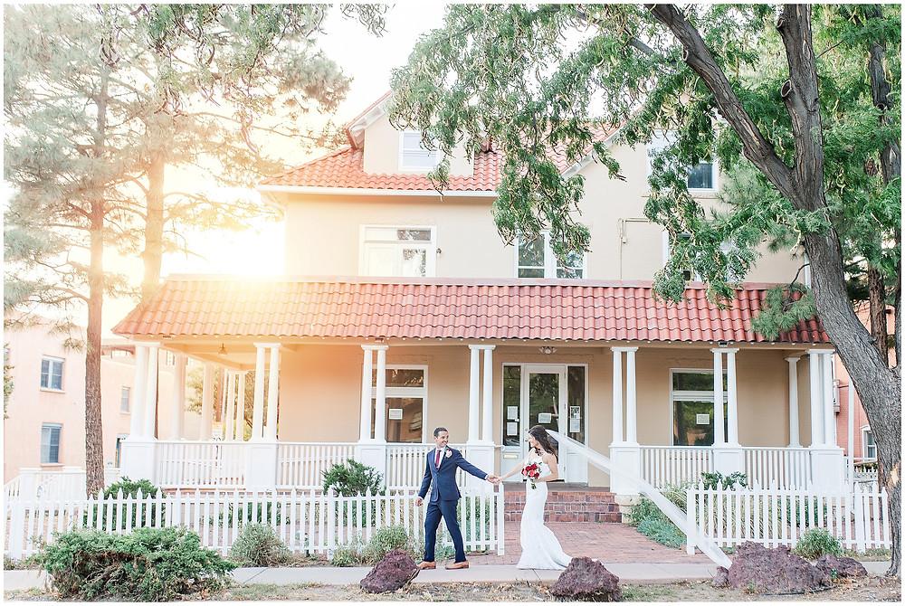 El Dorado Santa Fe. El Dorado Wedding. Santa Fe Wedding. Santa Fe Wedding Photographer. New Mexico Wedding. New Mexico Wedding Photographer. Lace Wedding Dress. Bold Bouquet. Bright Bouquet. Rose Bouquet. Wedding Inspiration.