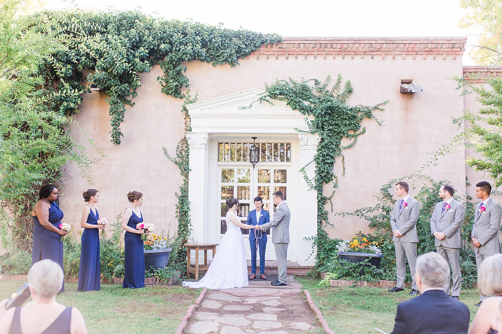 Weddings with Ivy. Where to Get Married in Albuquerque. Los Poblanos Wedding Venue. Albuquerque Wedding Photographer. New Mexico Wedding Photographer. Los Poblanos Lavender Farm.