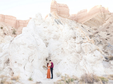 "Anahi + Elliott | A ""Super"" Special Engagement in White Mesa 