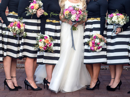 Brooke + Mitch | A Kate Spade Inspired Wedding
