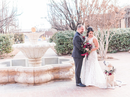 Bianca and Anthony | An Intimate Valentine Weekend Wedding in New Mexico