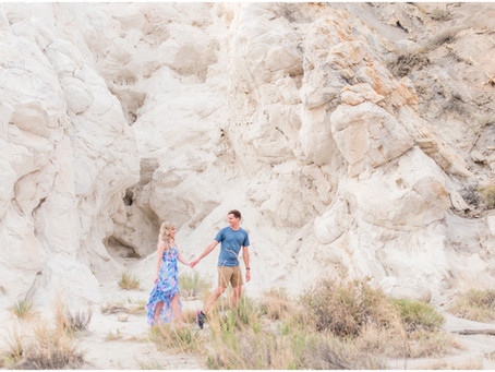 Julie + Evan | A White Mesa Engagement | Albuquerque Wedding Photographers