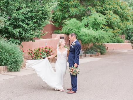 Rebecca + Nathan | An Intimate Wedding at Casa Vieja