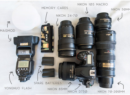 Whats In My Camera Bag? | Photographer Education from | Albuquerque Wedding Photographer