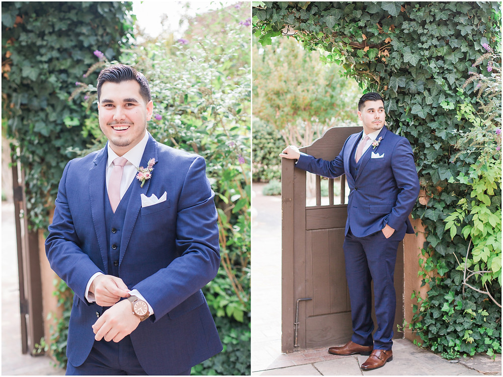 wedding at hotel albuquerque. new mexico wedding. outdoor wedding new mexico. albuquerque wedding. new mexico wedding photographer. Maura jane photography. Pink wedding. navy groom. grooms outfit.