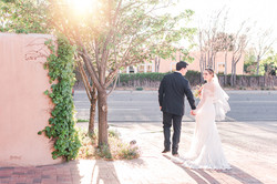 downtown santa fe wedding