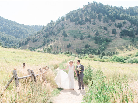 Brittany + Mike | Boulder Wedding at Sunrise Ampitheatre | Colorado Wedding Photographers