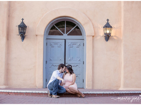 Melissa + Nick | Old Town Engagement