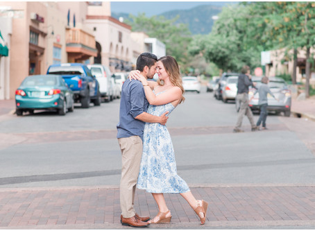 Brandon + Maura | Santa Fe Anniversary Session | Santa Fe Wedding Photographers
