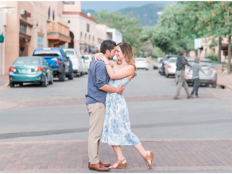 Brandon + Maura | Santa Fe Anniversary Session | Santa Fe Wedding Photographers