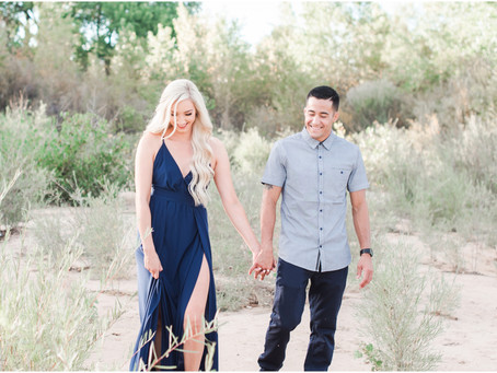 Why You Should Do Your Engagement Session With Your Wedding Photographer | Wedding Advice from Albuq