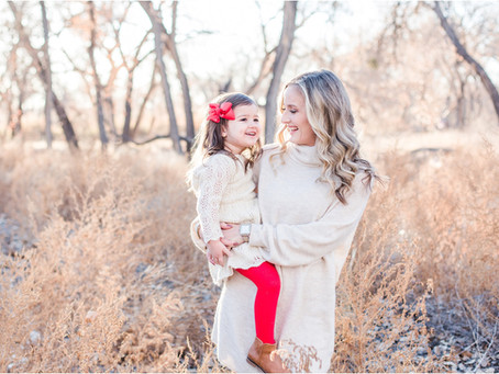 A Glow-Filled Family Session in the Bosque | Albuquerque Family Photographers