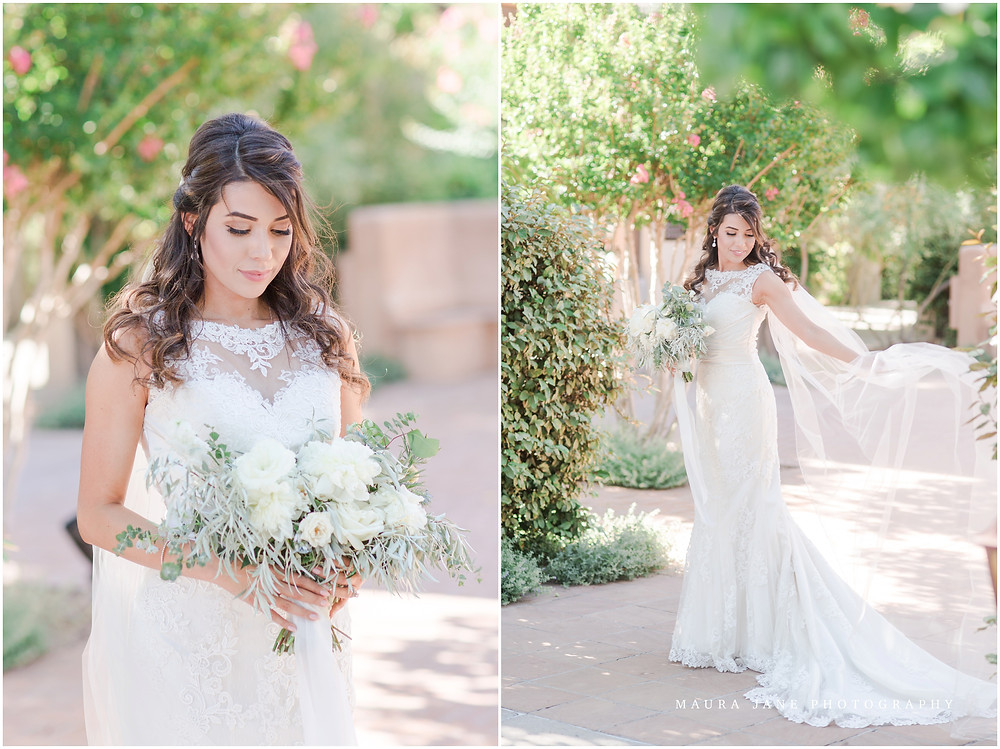 elegant dusty blue wedding. new mexico wedding photographer. hotel albuquerque wedding