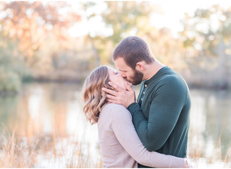 Jessica + Bobby | A Fall Engagement in the Cottonwoods
