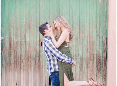 Brittany + Mike | A Canyon Road Santa Fe Engagement Session | Santa Fe Wedding Photographers