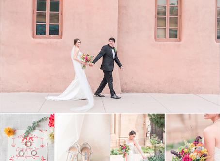 Carolyn + Nick | Intimate Santa Fe Wedding