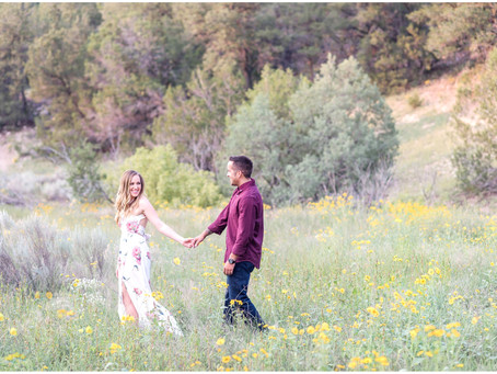 Allison + James | A Romantic Engagement in the Tijeras Mountains