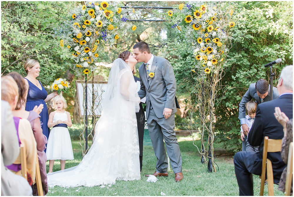 Wedding at Los Poblanos. Summer wedding New mexico. Outdoor wedding venue albuquerque. New Mexico Wedding Photographer. wedding floral arch