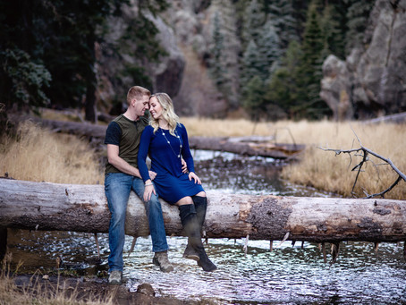 Shelby and Jason | Jemez Forest Engagement
