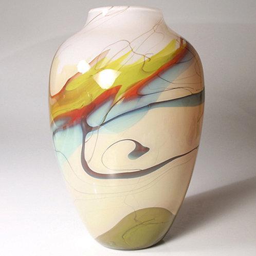 Nebula Vase white
