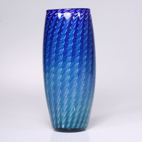 Zuni cobalt-teal barrel