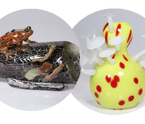 creatures on vase
