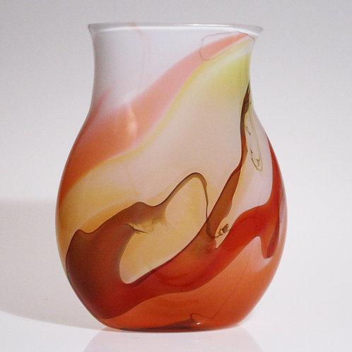 Nebula Vase flat salmon