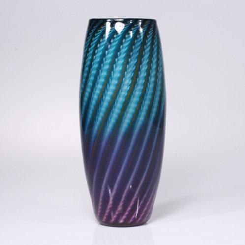 Zuni teal-purple barrel