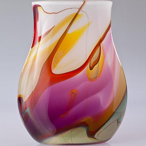 Nebula Vase flat amethyst