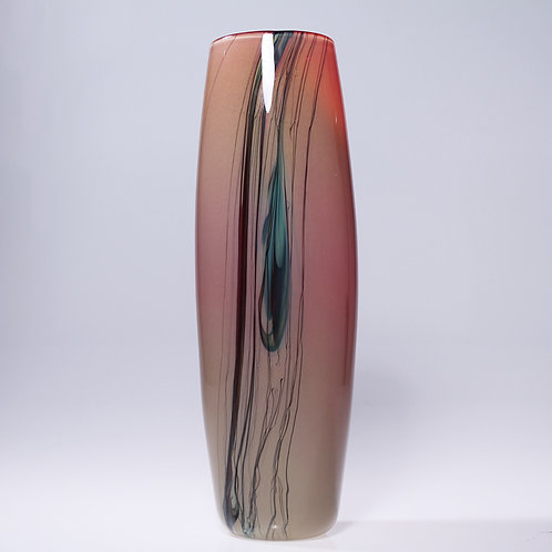 Lily Vase Tall Red