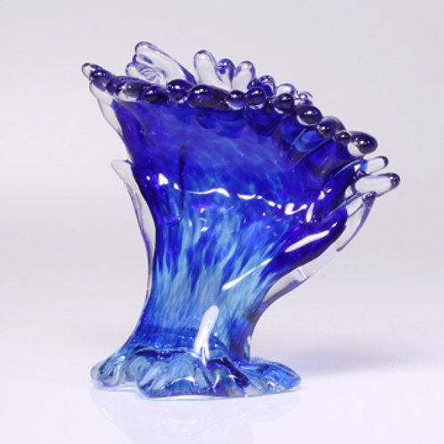 Wave cobalt-blue