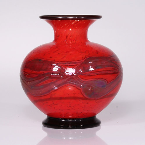 Red Gold Vase squat
