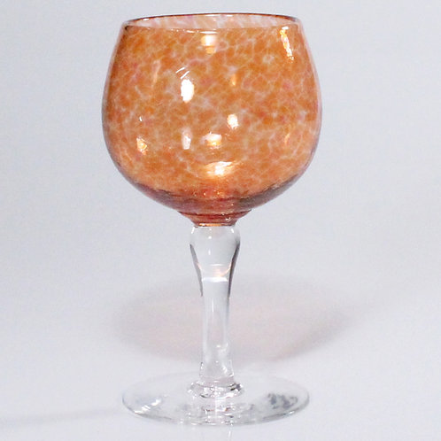 wine glass salmon