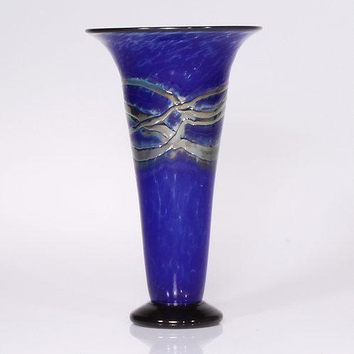 Blue Gold Vase trumpet