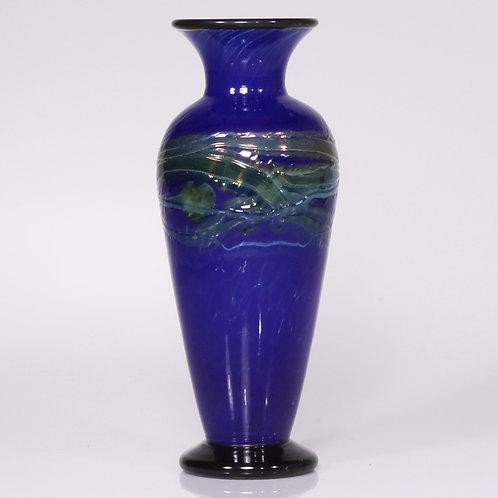 Blue Gold Vase chinise