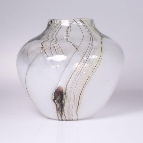 Lily Vase Squat White