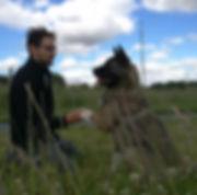 Educateur canin Mayenne 53 35 44 49 72 Florian PETITJEAN