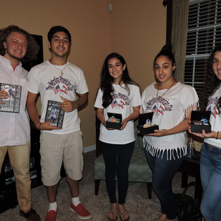 2016 Young Adults Honored for Humanitarian Work