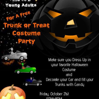 2016 MPC Young Adults Trunk or Treat