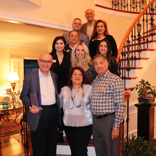 Welcoming Lebanese NC Honorary Consul Dr. Moise Khayrallah