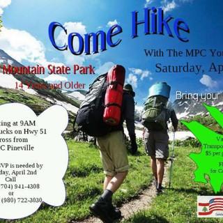 2016 Crowders Mountain Hiking Trip