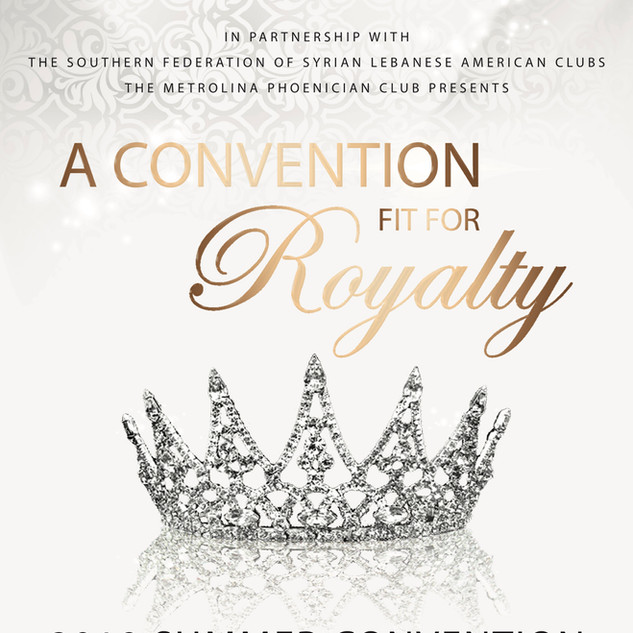2019 Convention Royalty