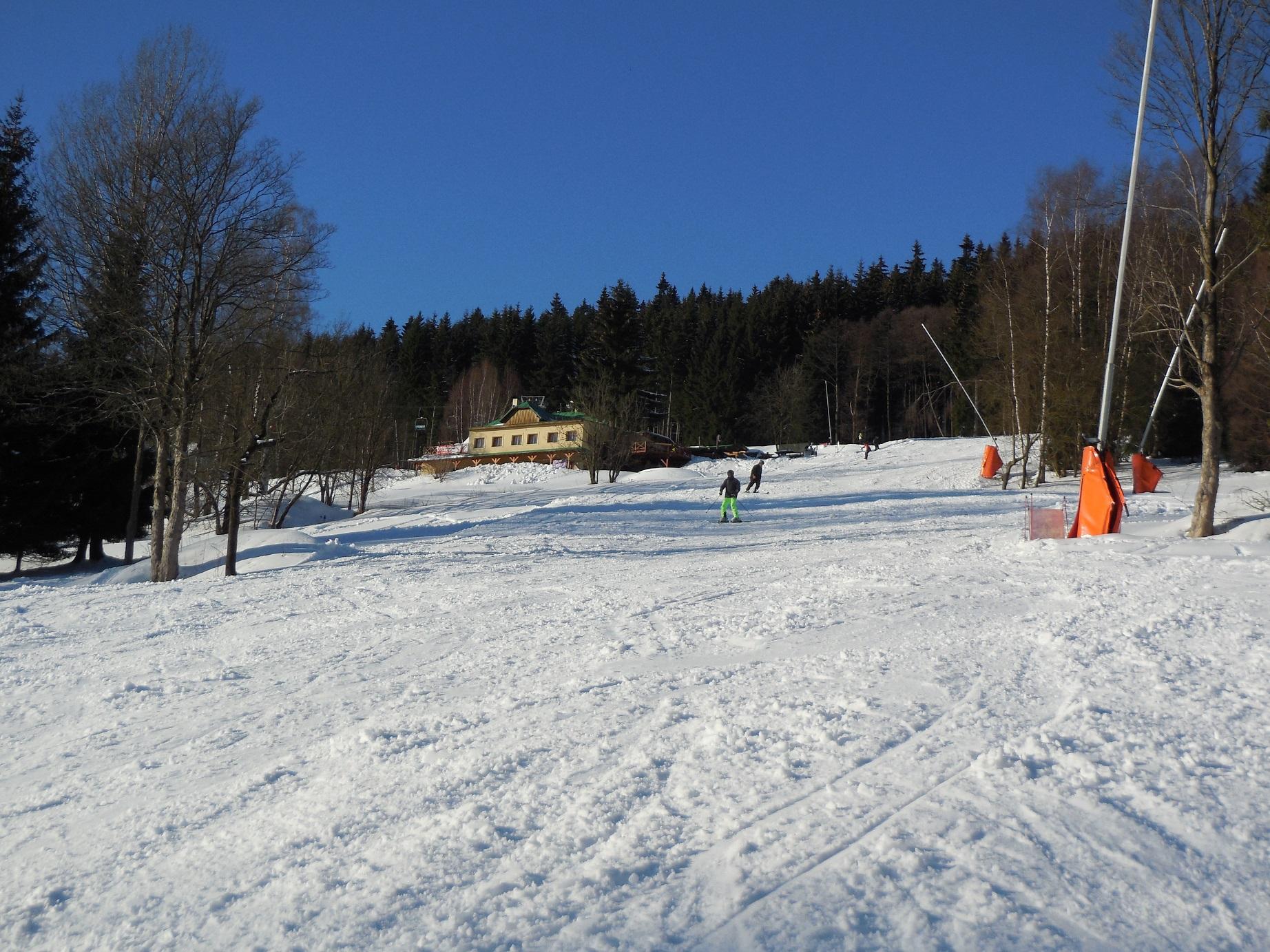 Skifahren direkt vor der Tür!