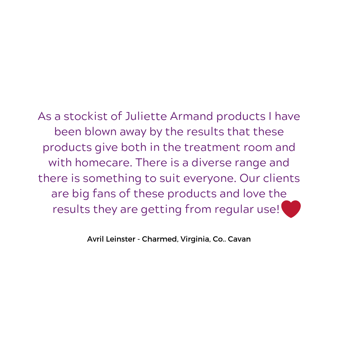 As a stockist of Juliette Armand product