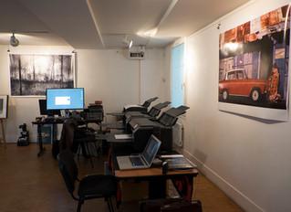 Journée de lancement de l'atelier de tirage d'art