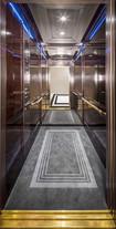 Mitsubishi Ascenseurs - Hôtel Peninsula Cabine 4 & 5